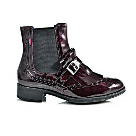 Ботинки Callaghan 79219 бордовые