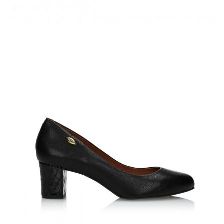 Туфли Luz Da Lua 528616 Preto (10140)  чёрные