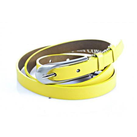Ремень 15 мм  LCD-004-15 жёлтый