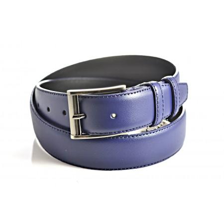 Ремень 35 мм M-037-35 Safiano синий