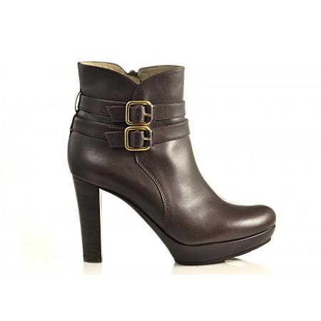 Ботинки UNISA Mira Moka коричневые